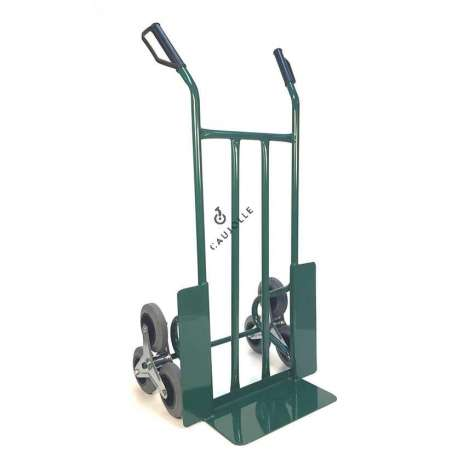 Stair climber trolley 3 non-marking wheel for removals