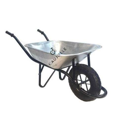 One-wheel wheelbarrow (80L), capacity 180 kg load.