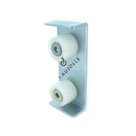 2-roller guide for 41 mm thick door.