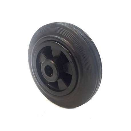 Industrial usage rubber wheel 160 mm diameter with 20 mm bore