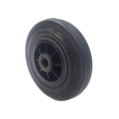 Industrial usage rubber wheel 200 mm diameter with 20 mm bore