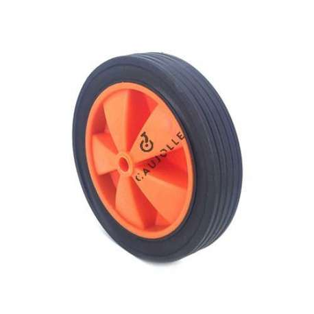 Small wheel in PVC 150 mm diameter.