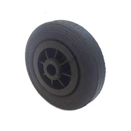 Industrial usage rubber wheel 200mm diameter, 25 mm bore.