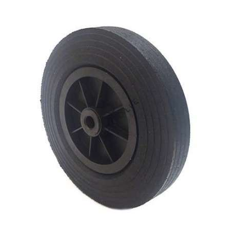 Industrial usage rubber wheel 300 mm diameter, 20 mm bore.