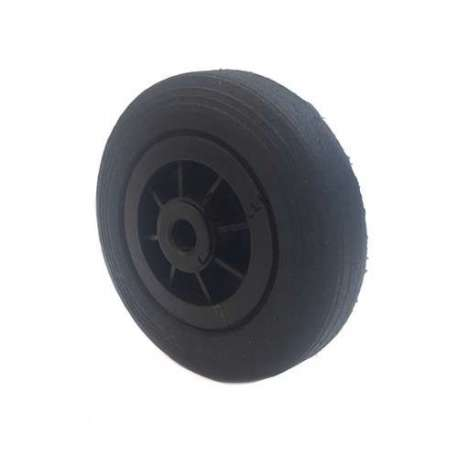 Industrial usage rubber wheel 200mm diameter, 20 mm bore.