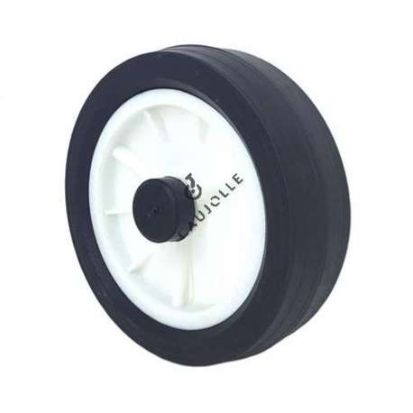Universal lawnmower wheel 150 mm diameter.