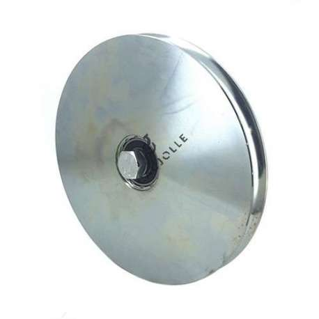 200 mm diameter roller for thin steel door with round horn
