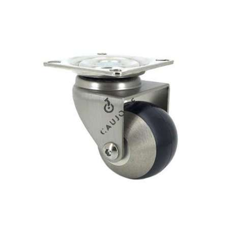 Spherical swivel castor wheel 50 mm diameter.