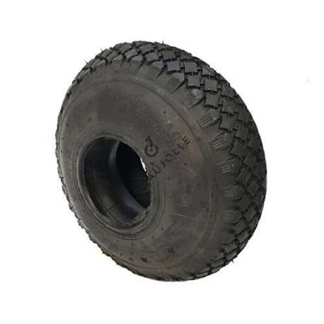 Set 280 mm diameter tyre with 4-inch rim and air chamber in rubber.