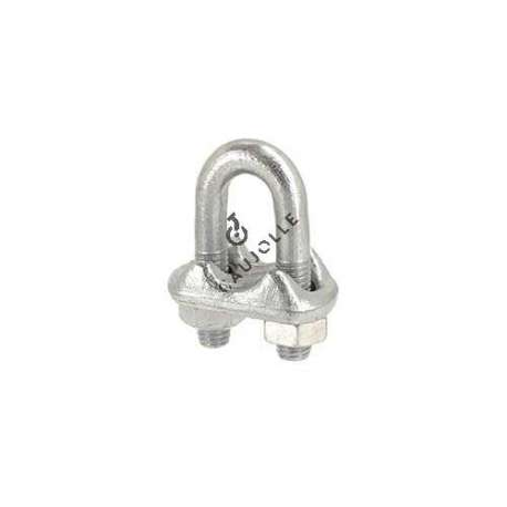 Steel stirrup cable lock for a 14 mm diameter cable