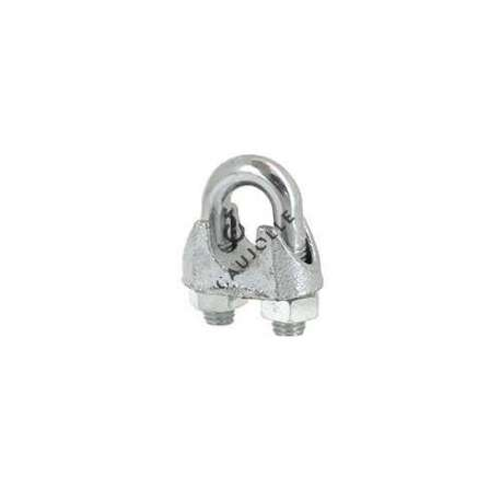 Steel stirrup cable lock for a 12 mm diameter cable