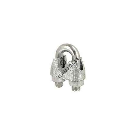 Steel stirrup cable lock for a 10 mm diameter cable