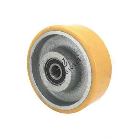 Industrial wheel with polyurethane tyre and cast iron hub 150 mm - SFPU 150