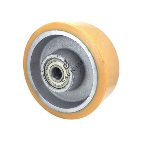 Industrial wheel with polyurethane tyre and cast iron hub 200 mm - SFPU 200