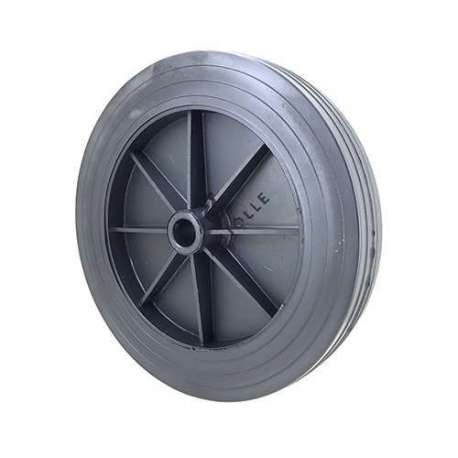 PVC wheel for goods handling diameter 250 mm with a smooth hub