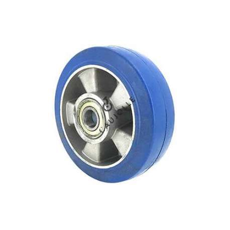 Industrial wheel in cut-resistant rubber diameter 160 mm bore 20 mm - S2017 160