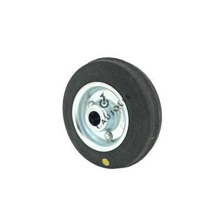 Wheel for goods handling in anti-static rubber diameter 100 - S2300
