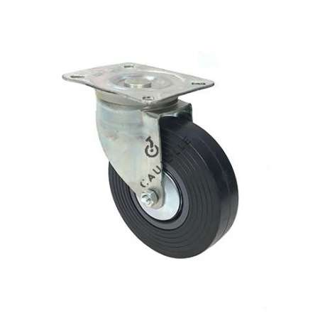 Pivoting industrial caster wheel with reinforced wheel, diameter of 150mm - S2C 150R